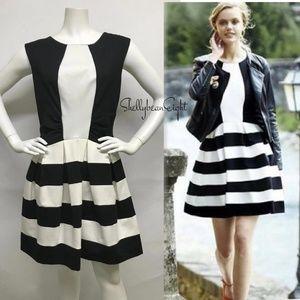 ANTHROPOLOGIE Eva Franco STRATA Fit&Flare Dress 10